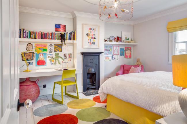 Нежный образ комнаты для малыша