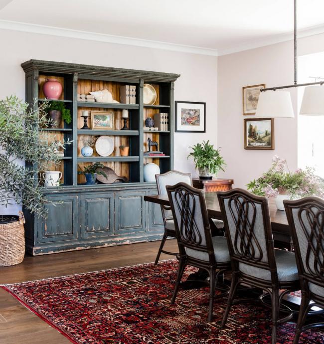 Состаренная мебель - одна из основ интерьера