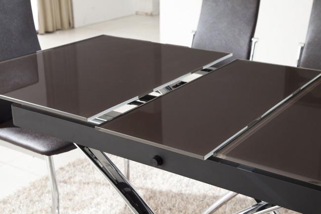 Расширение стола за счет центральной вставки