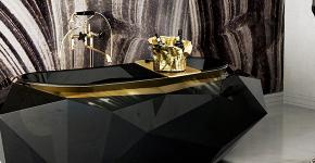Черная ванная комната — тренд сезона: 65 стильных идей дизайна в черном цвете фото