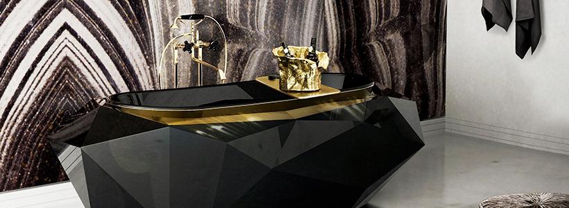 Черная ванная комната — тренд сезона: 65 стильных идей дизайна в черном цвете
