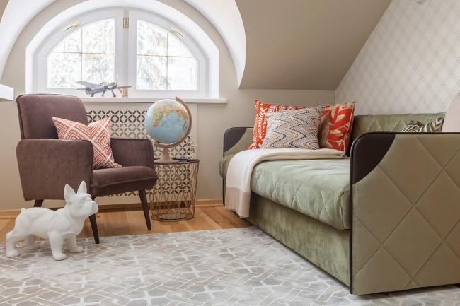 Этот детский диванчик сделает комнату для малышки сказочной, интересной и развивающей