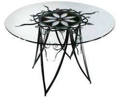 Кованые столы (80 фото): Изготовление, Эксплуатация, Цены