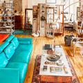 Бирюзовый диван в интерьере: 60+ фотоидей потрясающих вариантов мебели в цвете Тиффани фото