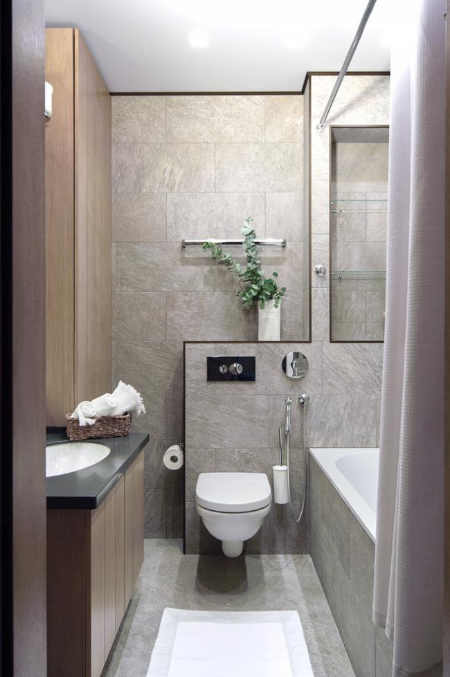 Консольный унитаз отличается эстетически привлекательным внешним видом и экономит 25-30 см полезного пространства