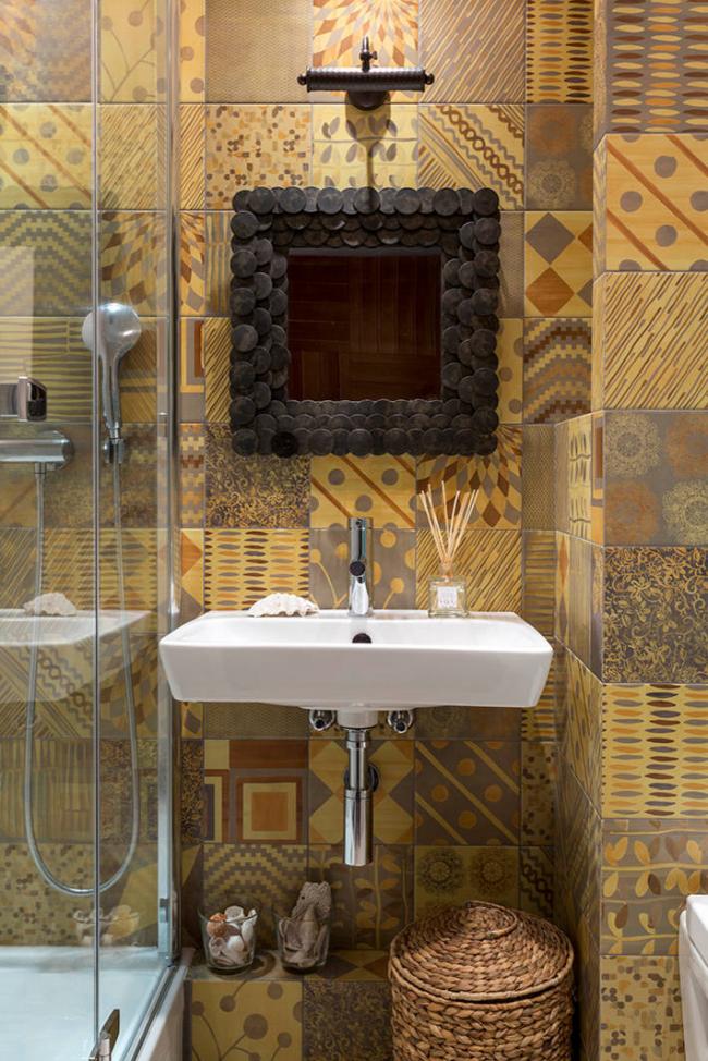 Красивая и комфортная организация пространства ванной комнаты