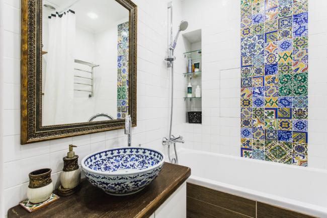 При правильной расстановке сантехники ванная 5 квадратных метров становится весьма комфортной и функциональной