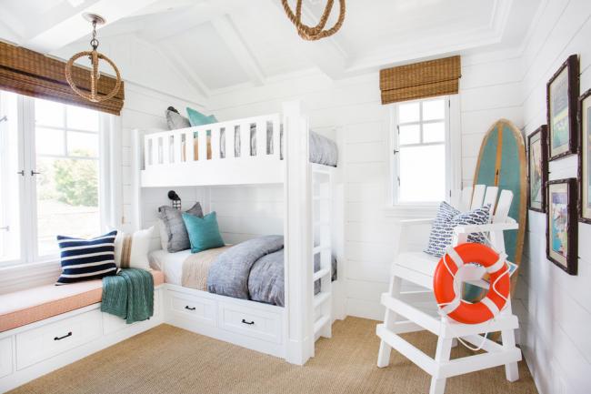 Белый цвет идеально подойдет для оформления спальной комнаты