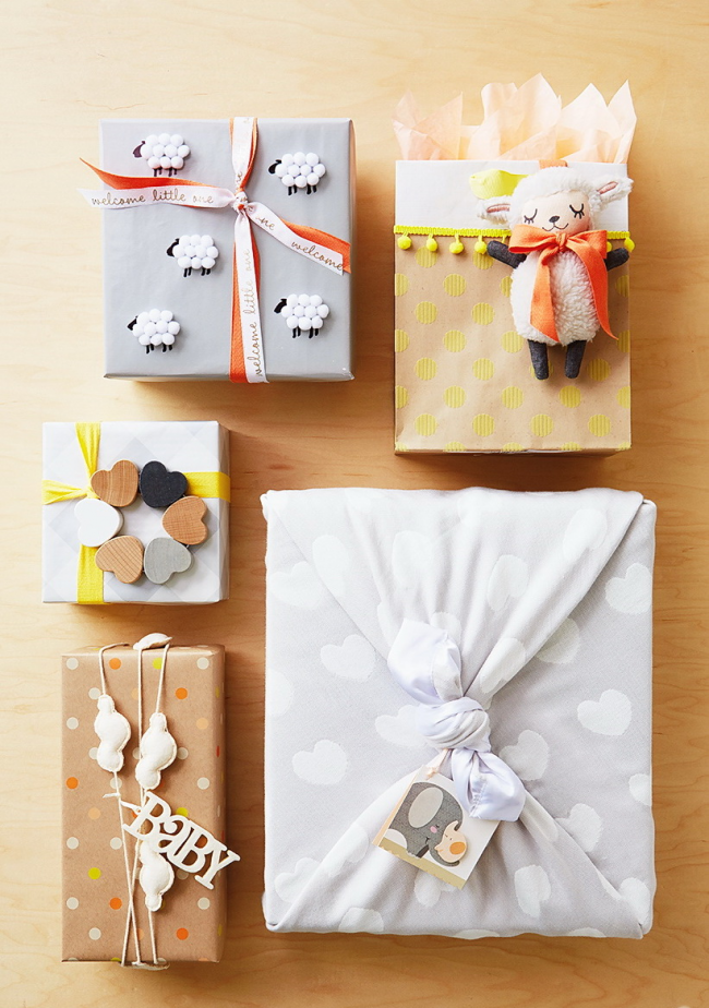 Идеи для упаковки детских подарков