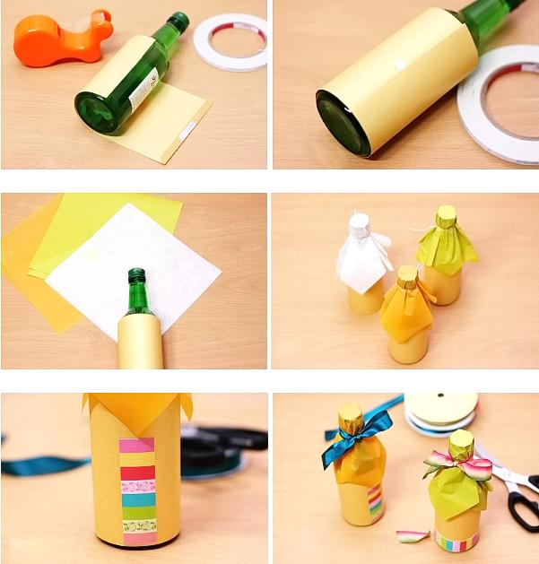 Легко украсить небольшими цветными листами бумаги