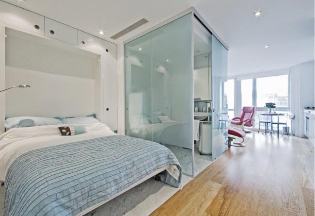 """Квартира - студия - идеальное """"поле"""" для создания современного комфорта"""