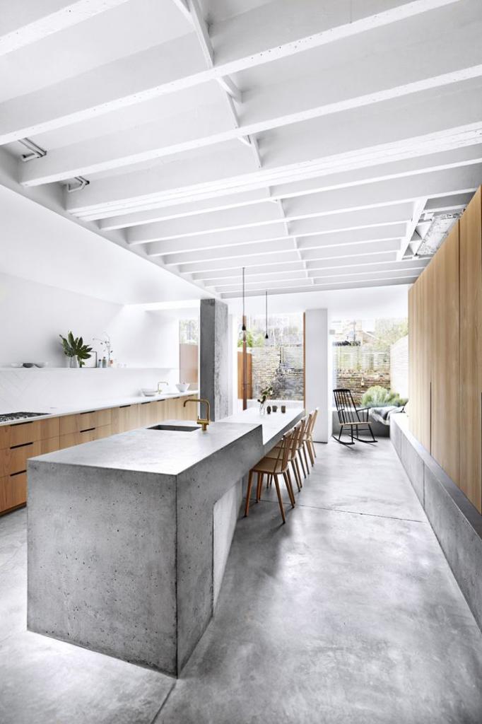 Кухня в стиле лофт 100 стильных идей дизайна Фото интерьеров