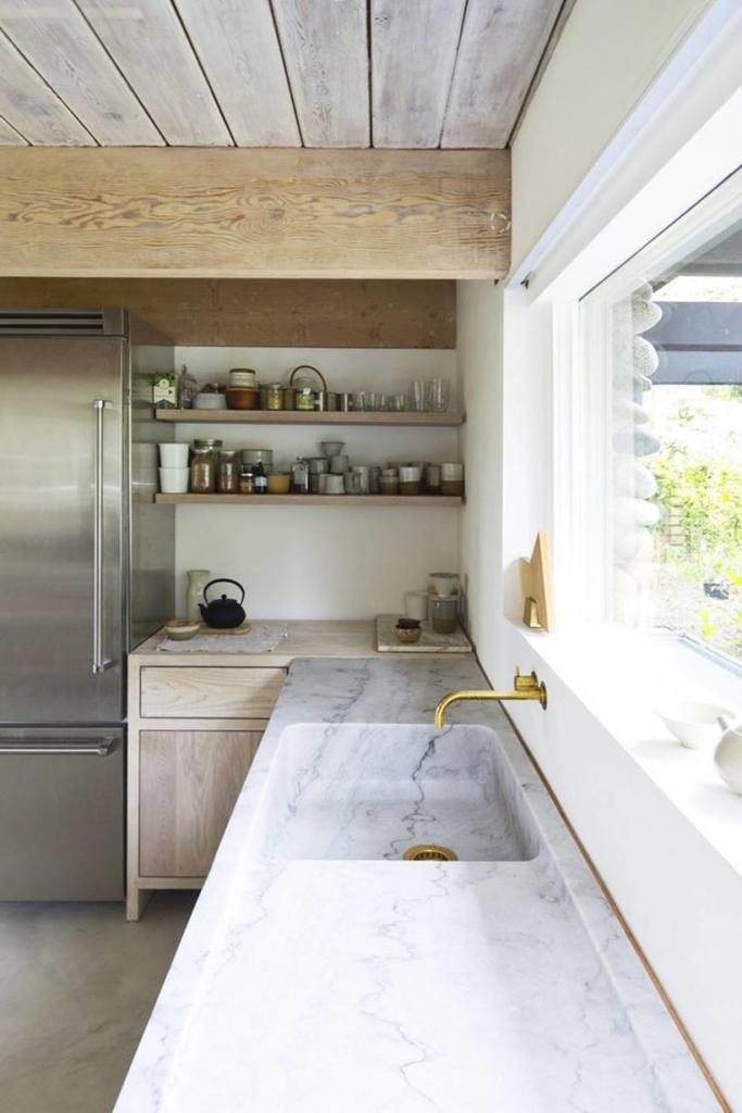 Раковина для кухни из искусственного камня Фото, Цены, Отзывы
