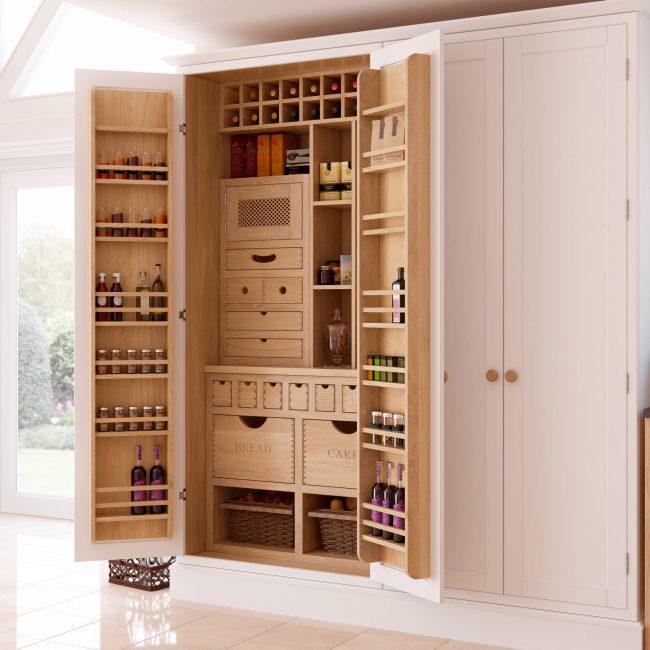 Стильная и лаконичная система хранения для кухни