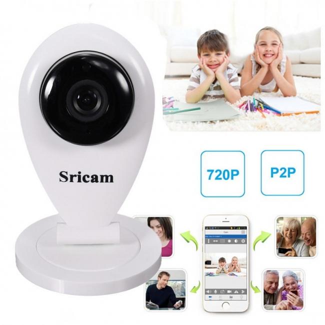 Модуль Wi-Fi, расположенный в камере SP009 от Sricam, позволит синхронизировать ее с мобильным устройством