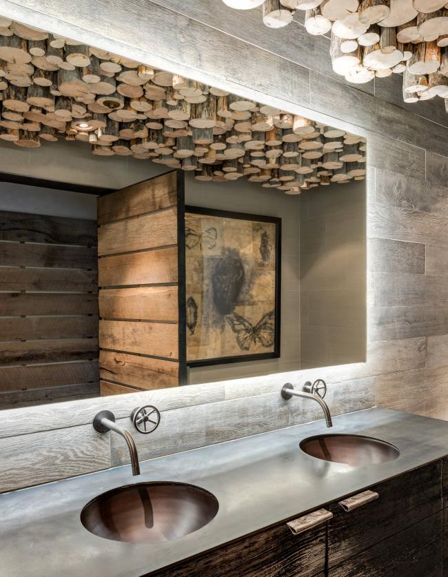 Дизайн ванной комнаты в стиле стимпанк