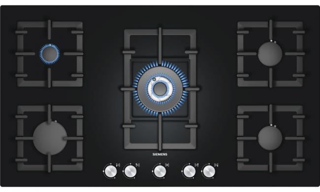 Газовая плита Siemens с одинарной и тройной коронами