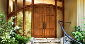 Деревянные входные входные: ТОП-10 надежных и стильных моделей для дома 2019 года фото