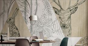 Графика в интерьере: 100 способов создания оригинального арт-пространства у себя дома фото