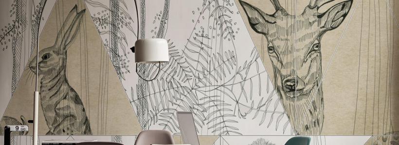 Графика в интерьере: 100 способов создания оригинального арт-пространства у себя дома