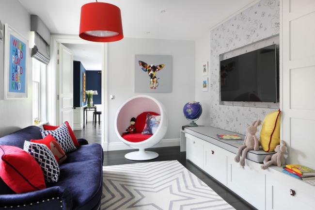 Детская комната в стиле поп-арт