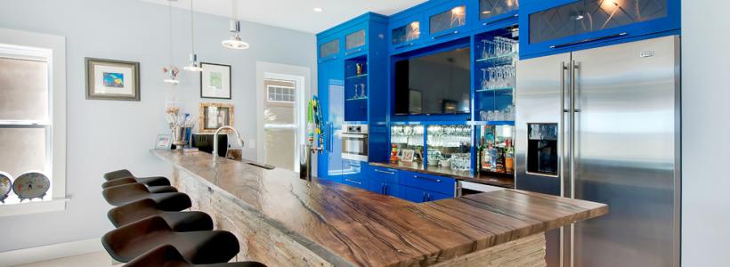 Дизайн кухни с барной стойкой: 60+ трендов для современного и практичного интерьера