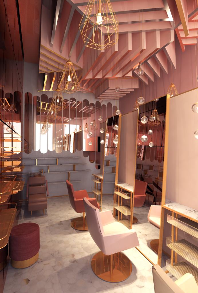 60 идей дизайнов салонов красоты: советы оформления