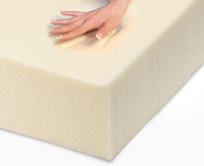 Высокий поролон поможет создать пышную подушку на сиденье и спинке гарнитура