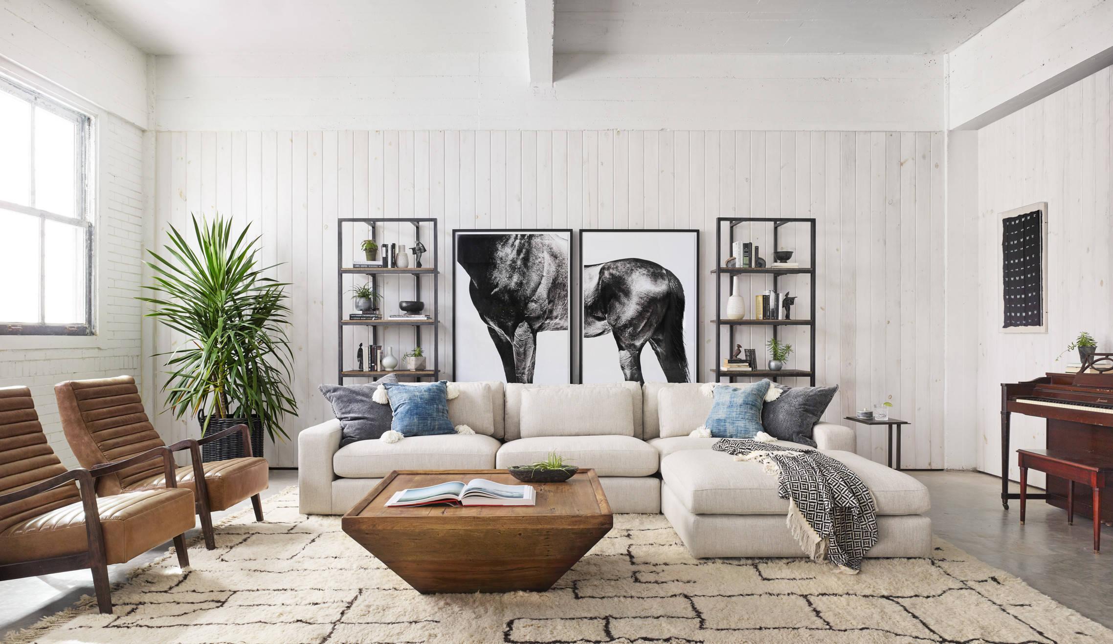 Модульные картины - прекрасный способ украшения современных интерьеров
