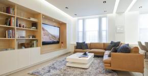 Парящий натяжной потолок: особенности конструкций и 95+ ультрасовременных реализаций для вашего дома (2019) фото