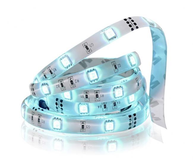 В строительных магазинах можно приобрести светодиодные подсветки любого цвета