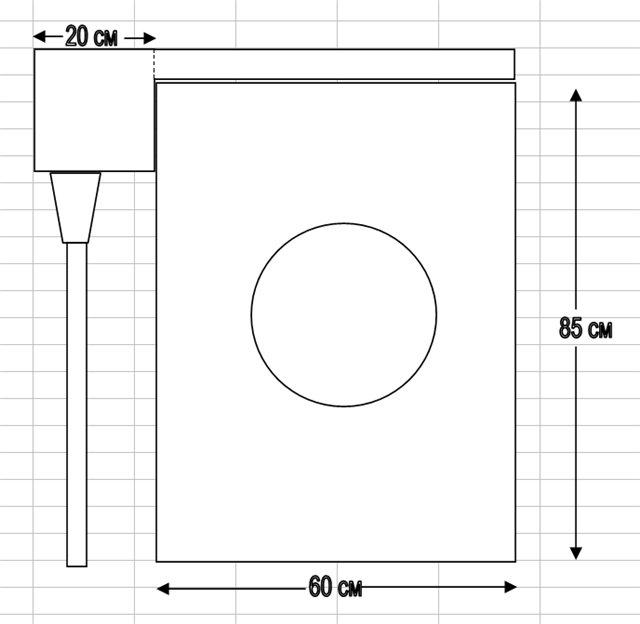 Стандартные размеры техники в установке раковины над стиральной машиной