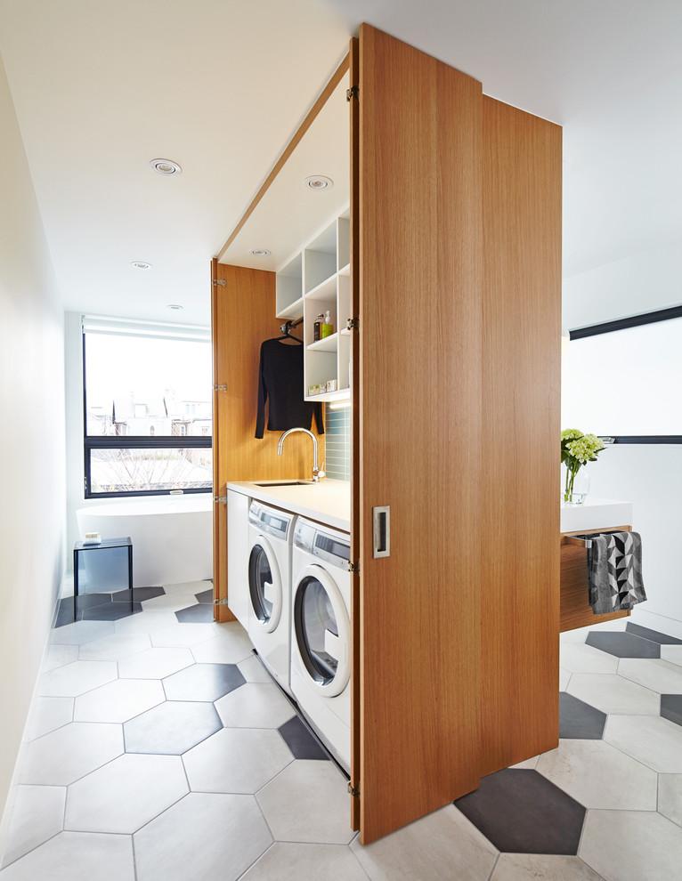 Раковина над стиральной машиной: 85 лучших идей