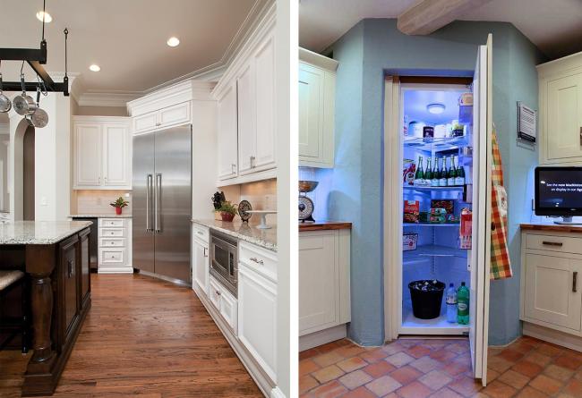 Использование углового холодильника на кухне– это один из наиболее практичных и удобных способов сэкономить пространство