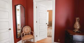 Деревянные двери межкомнатные (85+ фото) — правила грамотного выбора фото