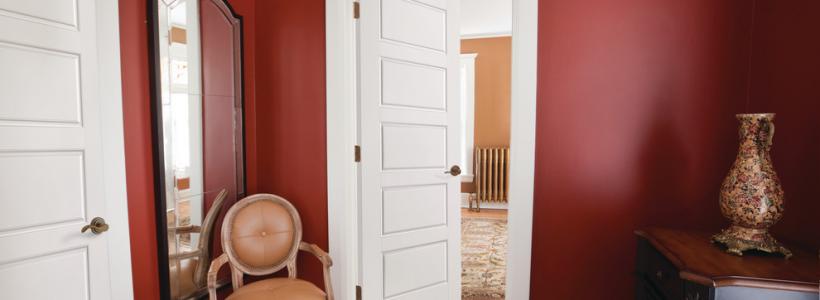 Деревянные двери межкомнатные (85+ фото) — правила грамотного выбора