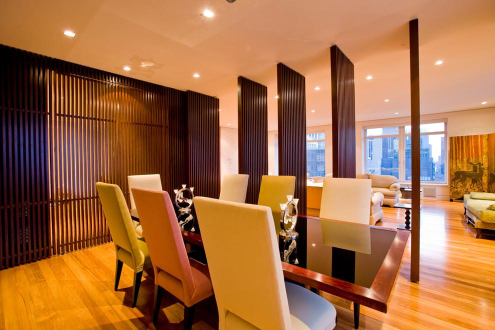 Зонирование квартиры-студии с помощью декоративных перегородок