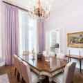 Фиолетовые шторы в интерьере (60+ фото): особенности настроения и выбор оттенков фото
