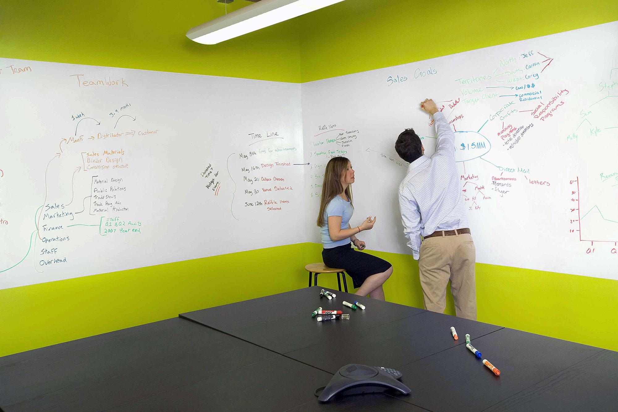 Маркер-краска очень удобна для офисной работы