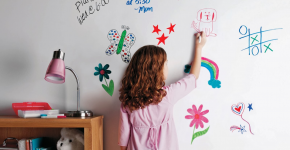 Маркерная краска для стен: необъятный простор для творчества и 85+ лучших вариантов исполнения фото