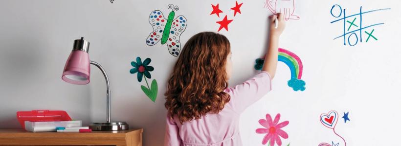 Маркерная краска для стен: необъятный простор для творчества и 85+ лучших вариантов исполнения