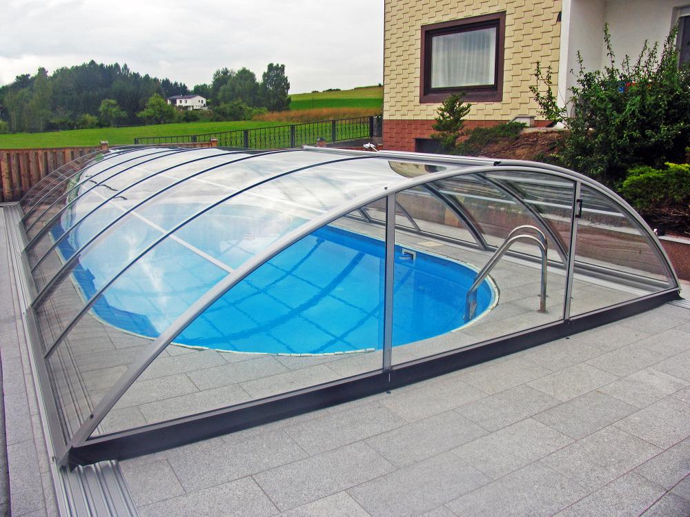Навесы для бассейна из поликарбоната 90 лучших вариантов