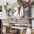 Прихожая в стиле прованс (120+ фото): выбираем мебель для коридора и все секреты французского уюта фото