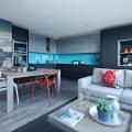 Синие кухни (100 идей): создаем современный и аристократичный интерьер в холодной цветовой гамме фото