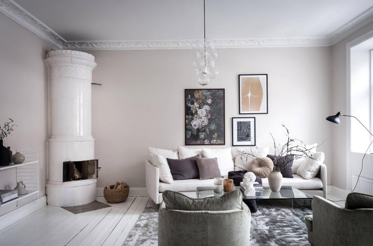 Скандинавский стиль в интерьере – это спокойствие и безмятежность