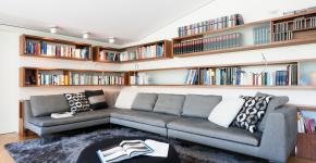 Угловые диваны в гостиной: 75 решений для тех, кто выбирает комфорт и релаксацию фото