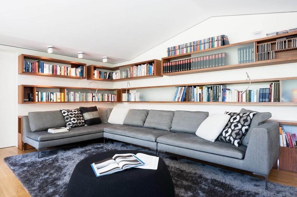 Угловой диван в современной гостиной - идеальный вариант как для городских квартир, так и для загородных домов