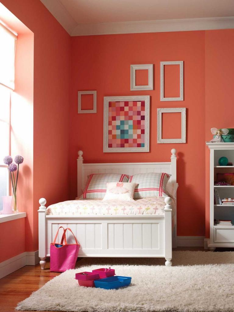Коралловый цвет в интерьере 70 фото ярких идей для дома