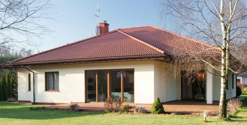 Одноэтажный дом с тремя спальнями –очень популярный вариант