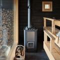 Печи для бани на дровах с баком: 90 максимально функциональных и продуманных реализаций фото